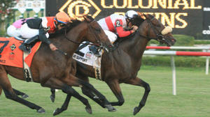 Air Support wins $600,000 Virginia Derby at Colonial Downs