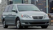 Honda recalling 900,000 Odyssey minivans due to fire risk