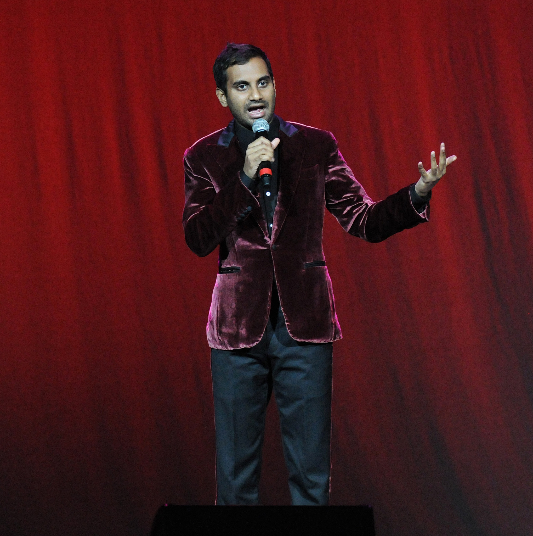 Celeb-spotting around South Florida - Aziz Ansari at Hard Rock Live at Seminole Hard Rock Hotel & Casino