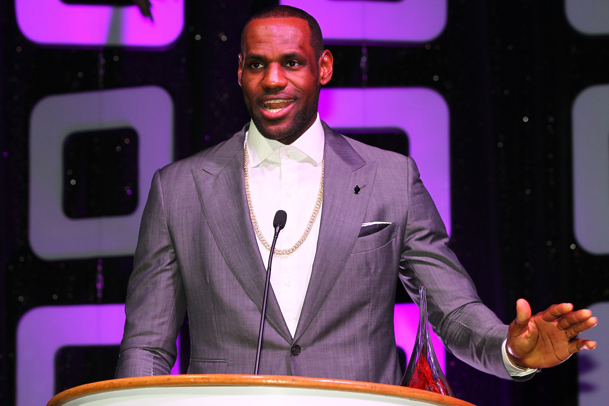 Celeb-spotting around South Florida - Lebron James
