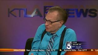 Larry King Talks Piers Morgan Leaving His Show