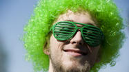 St. Patrick's Day brings out crazy green costumes