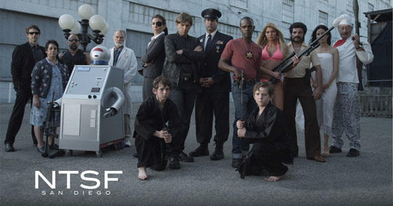 "The hardcore crew of ""NTSF"""