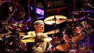 Drummer Neil Peart's body is finely tuned instrument