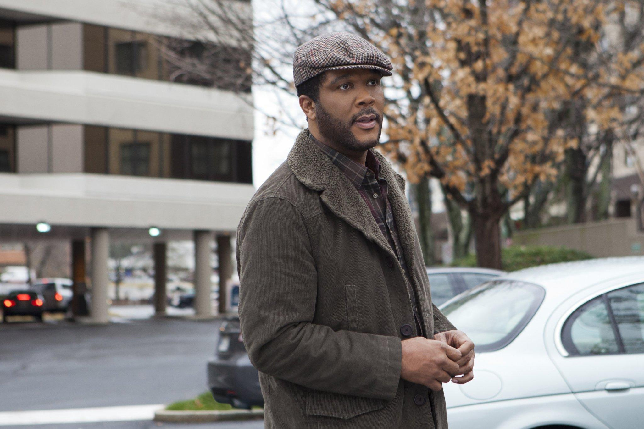 "Tyler Perry stars as 'T.K.' in his latest film, ""The Single Moms Club."""