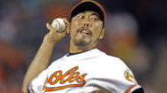 Orioles' Uehara aware of trade talk