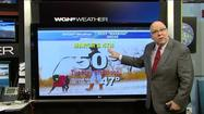 Video: Brief warm-up with 50 degrees possible tomorrow