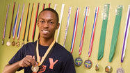 Poly runner Dorian Claggett looks to add to his medal collection at Junior Olympics