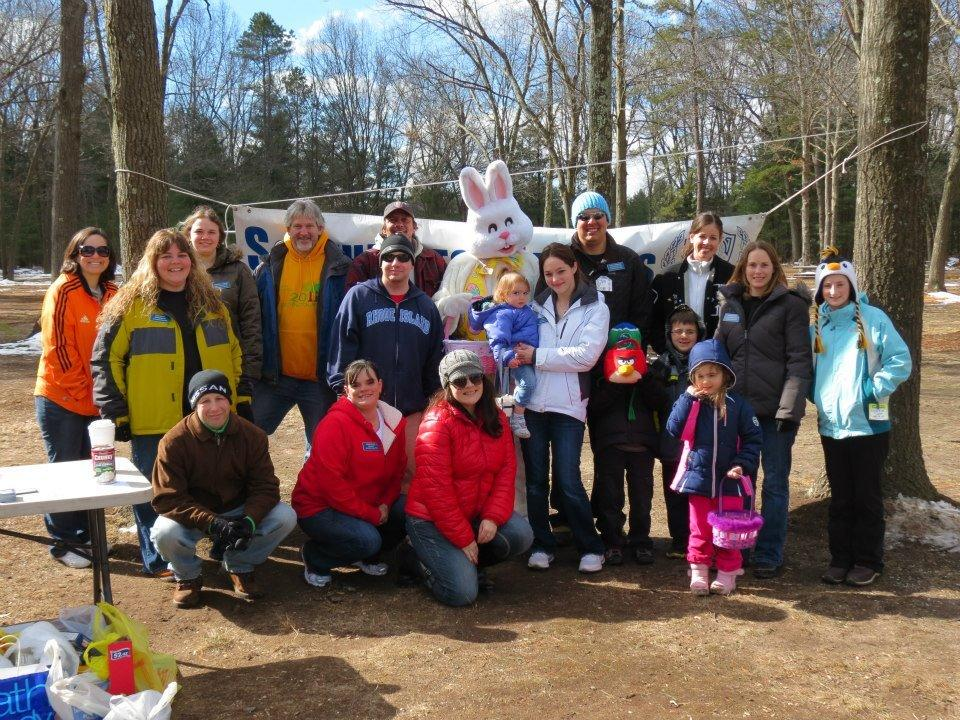 Southington Jaycees at the 2013 Easter Egg Hunt.