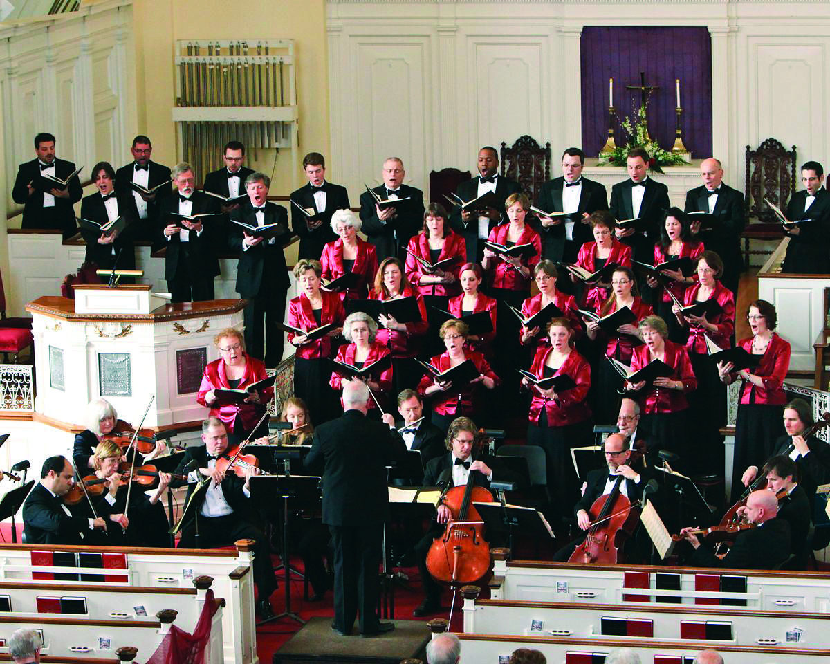 CONCORA performs Bach at Immanuel Congregational Church, Hartford.