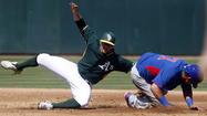 Photos: Athletics 6, Cubs 2