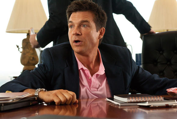 "Dave (Jason Bateman) fakes his way through a meeting in ""The Change-Up."" Our vol"