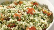 Recipe: Quinoa salad with grilled corn, tomatoes and cilantro
