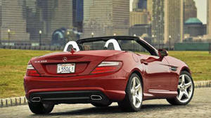 Mercedes Benz SLK350: Remodeled roadster is well-rounded for 2012