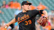 Hunter struggles as Orioles fall to Blue Jays