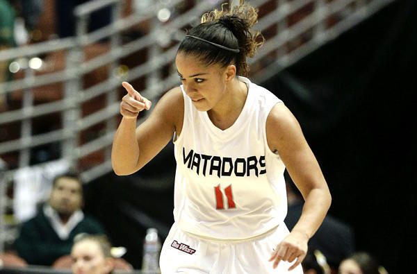 Cinnamon Lister is the second-leading scorer for Cal State Northridge at 15.3 points a game.