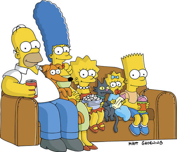 """""""The Simpsons"""": Extreme TV Lust-ers"""