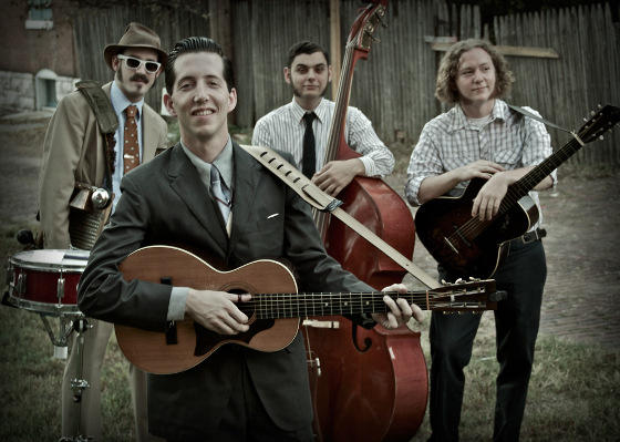 Pokey LaFarge and the South City Three is set to play the Attucks Theatre on Oct. 15, 2011.