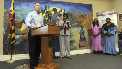 Pictures: Governor O Malley announcing funding for Harriet ...