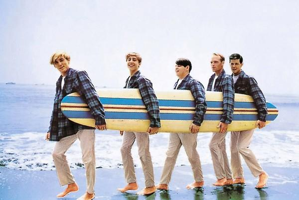 Beach Boys 'Surfer Girl' album cover