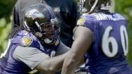 Ravens notebook: Cousins to stay at right guard