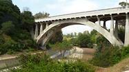 The Arroyo Seco in Pasadena