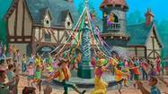 Photos: Concept art of Disneyland's Fantasy Faire princess village