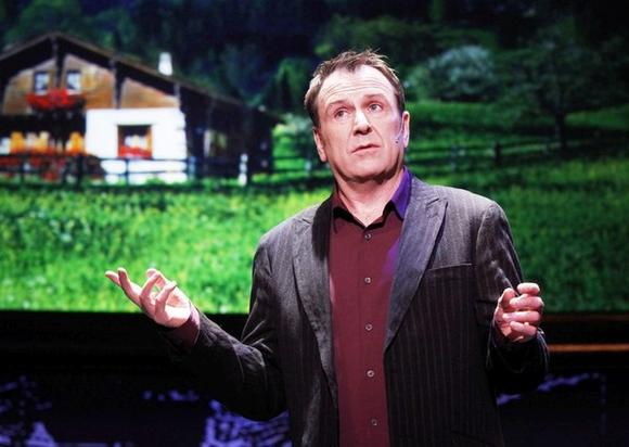 """Colin Quinn: Long Story Short"" is at the Broadway Playhouse."