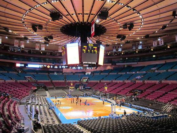 Best Nba Arenas New York Knicks 39 Madison Square Garden Is