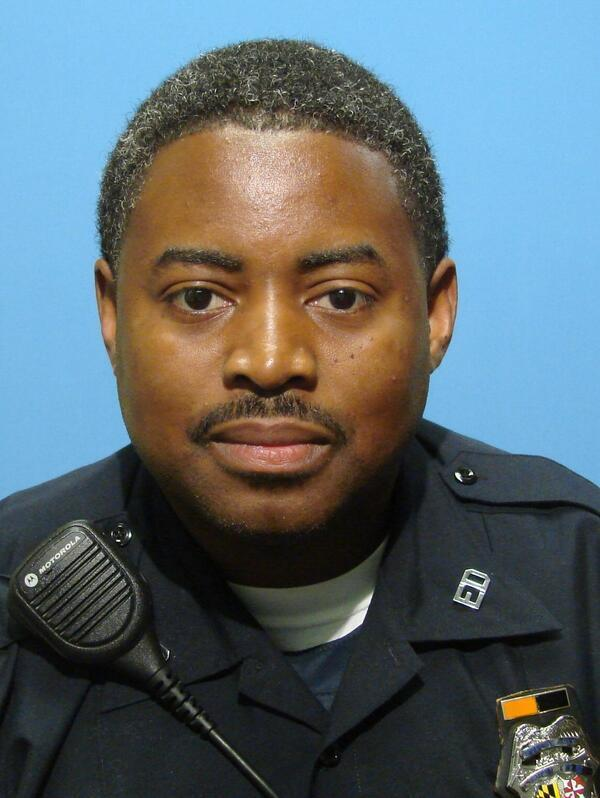 Police released this photo of officer Keth Mcneill who was shot while off-duty on Friday.