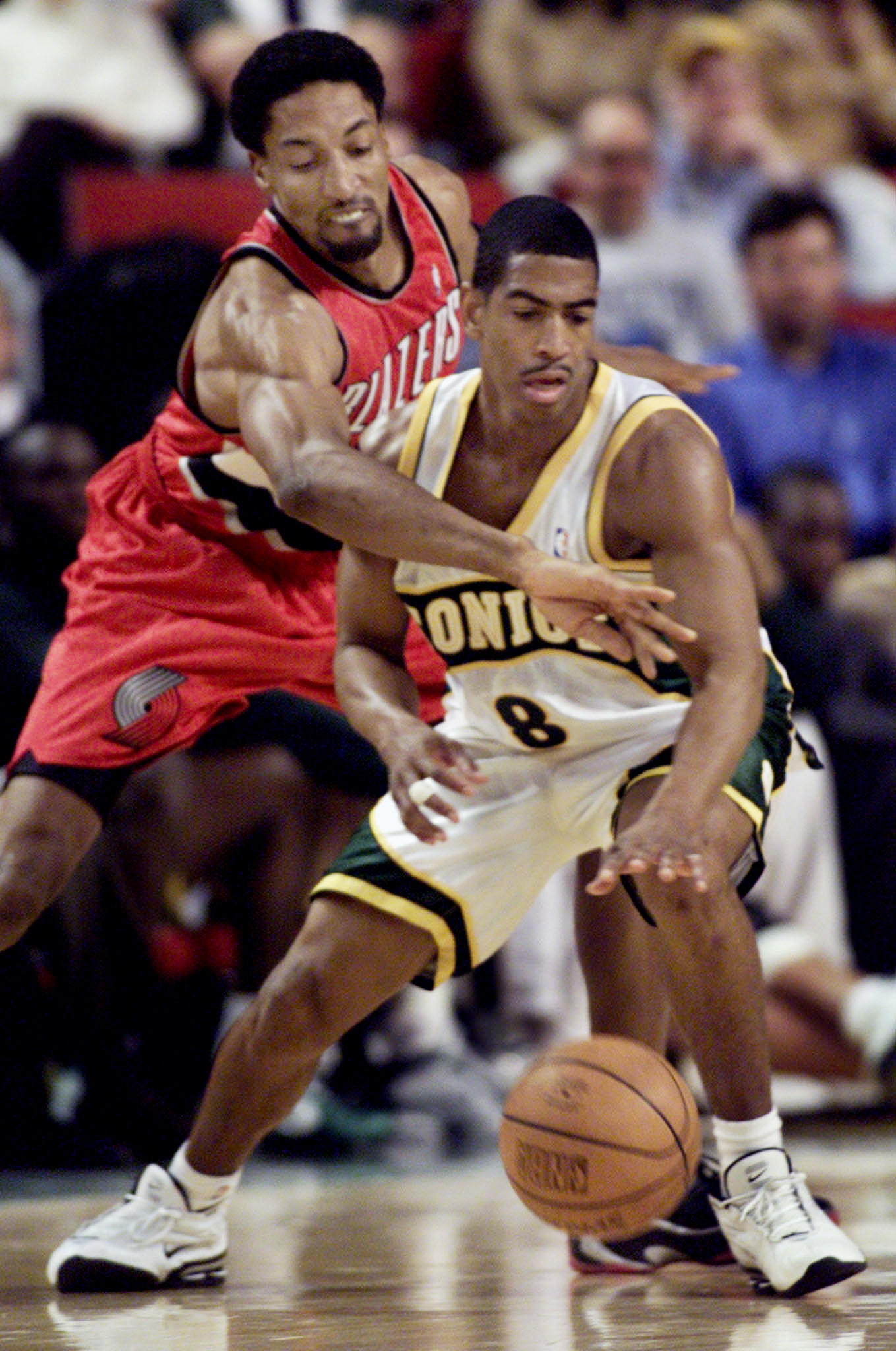 The Seattle SuperSonics were one of 11 NBA teams that UConn men's basketball coach Kevin Ollie played for in his pro career.
