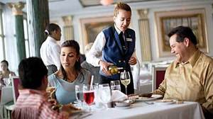 The sea change: Ever finer cruise dining