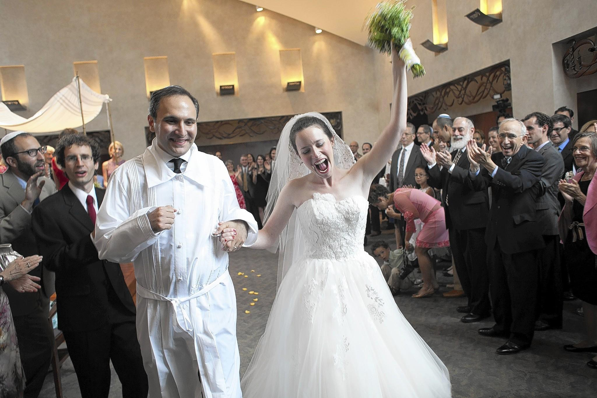 Ben Bregman and Jessica Agus were married in July 2013 at Beth El Congregation in Baltimore.