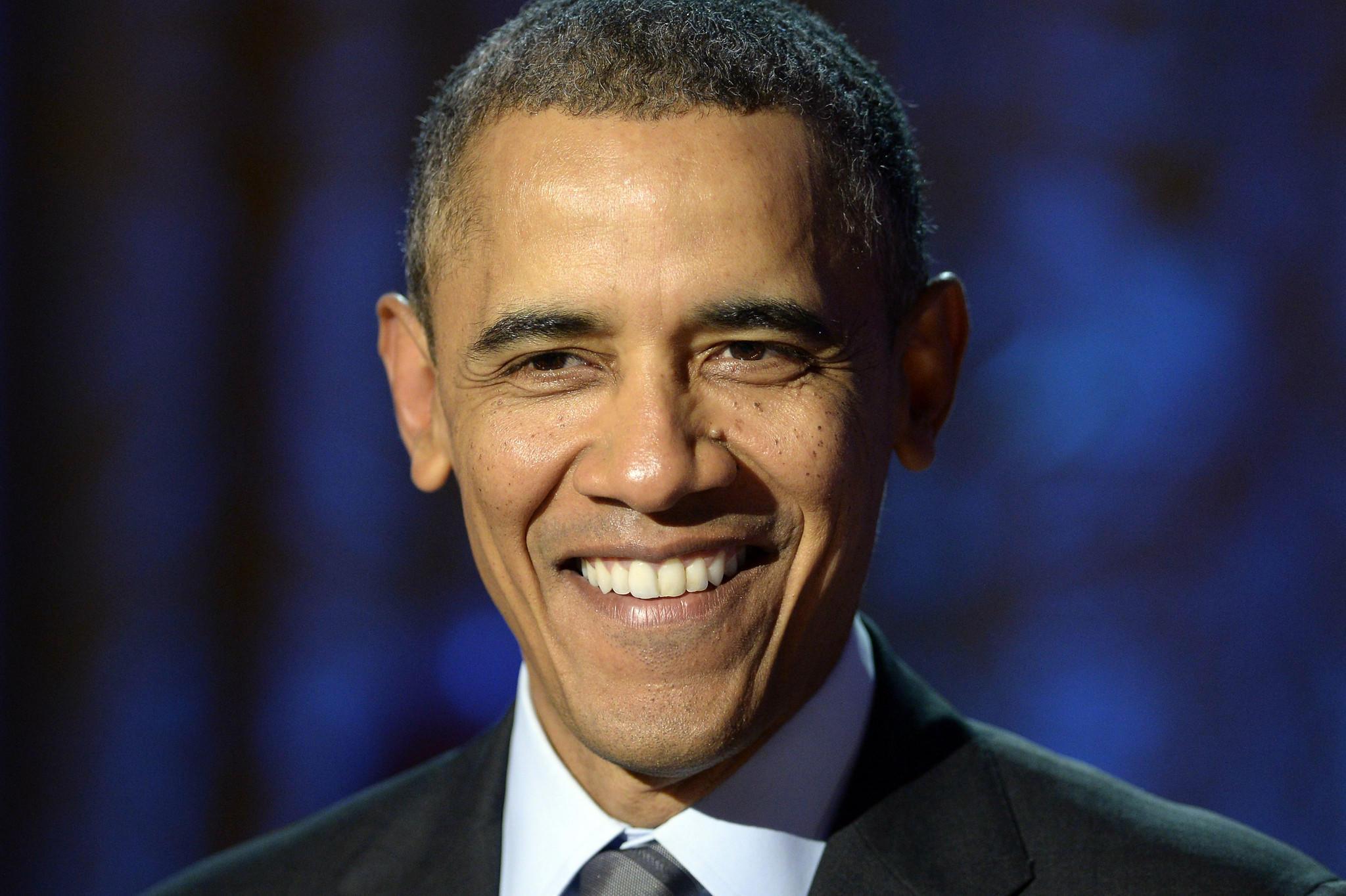 President Barack Obama at a White House event.