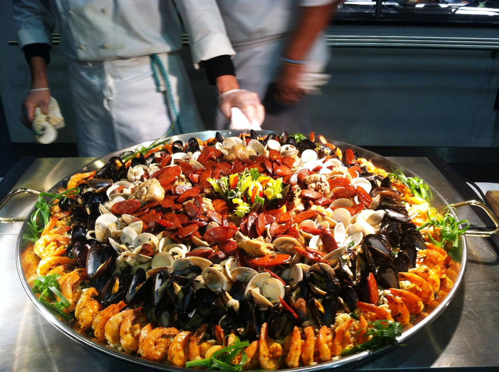 Paella by Rouge Catering in Hunt Valley.