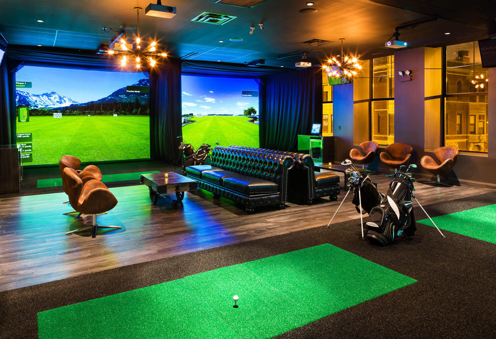 The golf lounge at Fairways