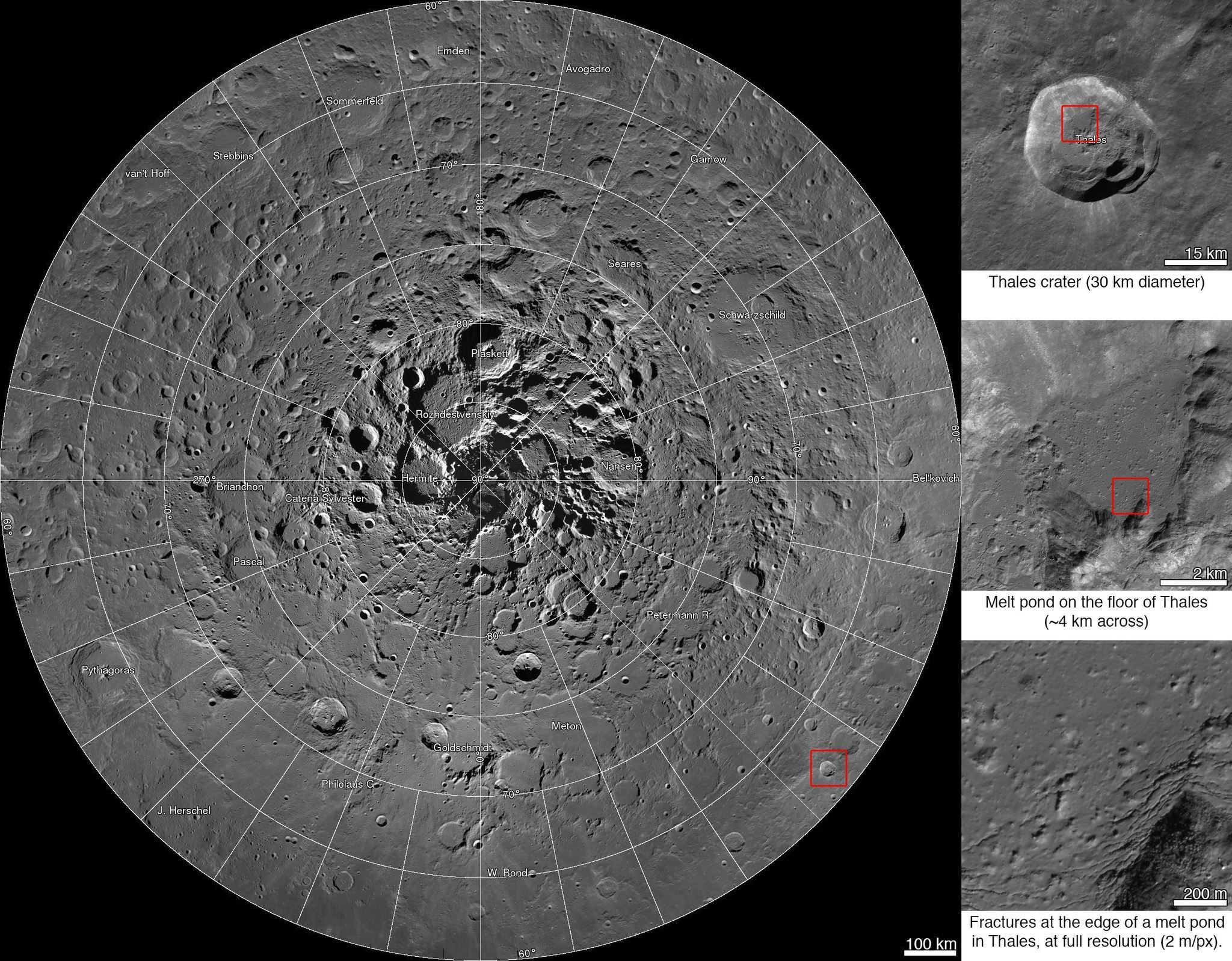 Check out NASAs amazing new interactive map of the moon  LA Times