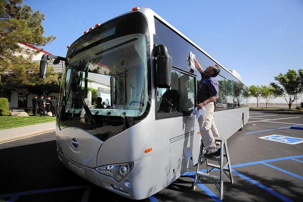 Chinese firm may lose bus contract with Long Beach