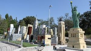 Legoland Florida: Miniland USA near completion