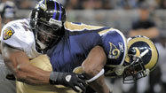 Snarl returns to Ravens defense as Rams can't get moving