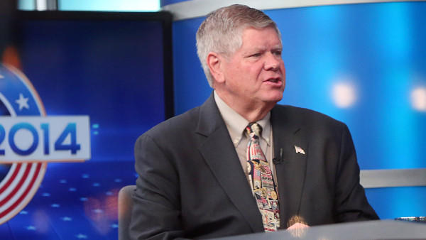 Illinois Republican U. S. Senate candidate Jim Oberweis.