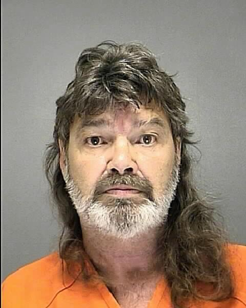 James Guy Bull, 61, was booked into the Volusia County Branch Jail on two counts of animal cruelty.