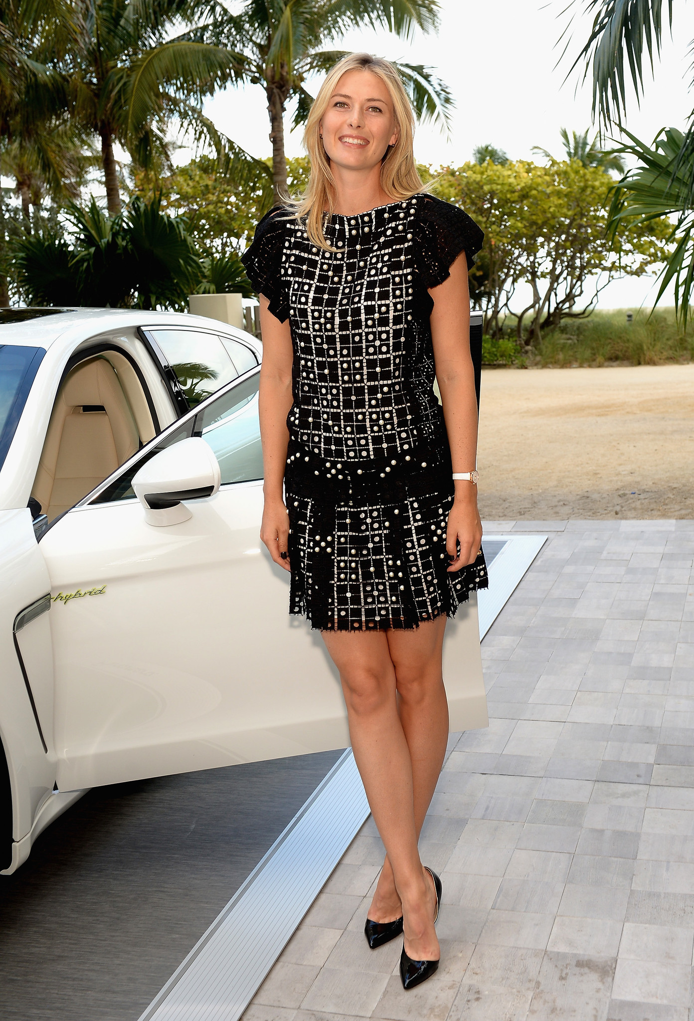 Celeb-spotting around South Florida - Maria Sharapova