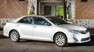 2012 Camry: Sharper angles, but nothing edgy in this update