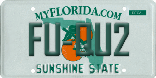 Pictures: Rejected Florida license plates - Orlando Sentinel