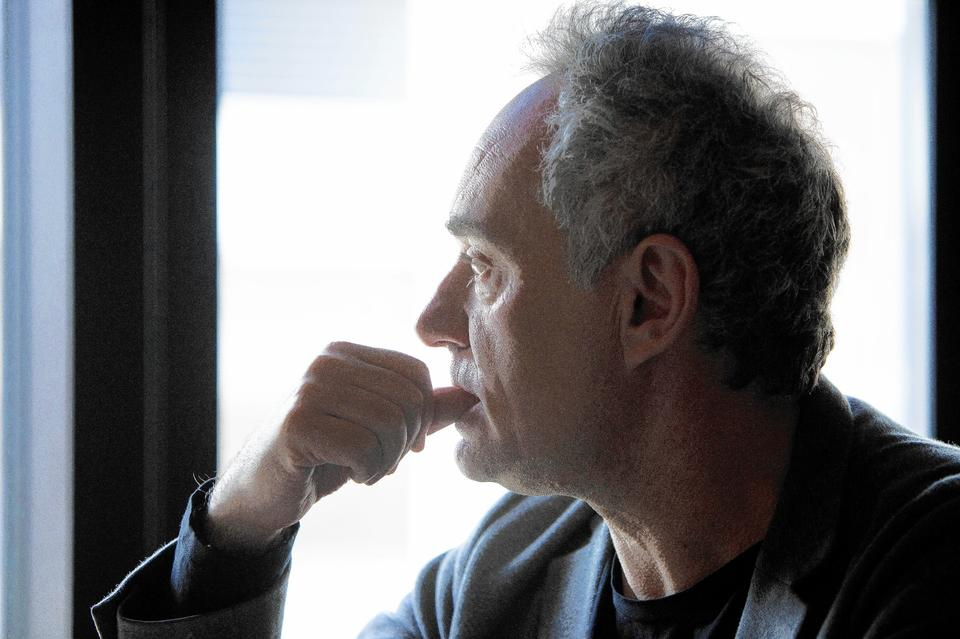 Chef Ferran Adria of Spain's El Bulli discusses the future of cooking at Balena.