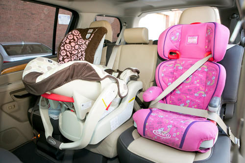 How Many Car Seats Can Fit In A Ford Escape