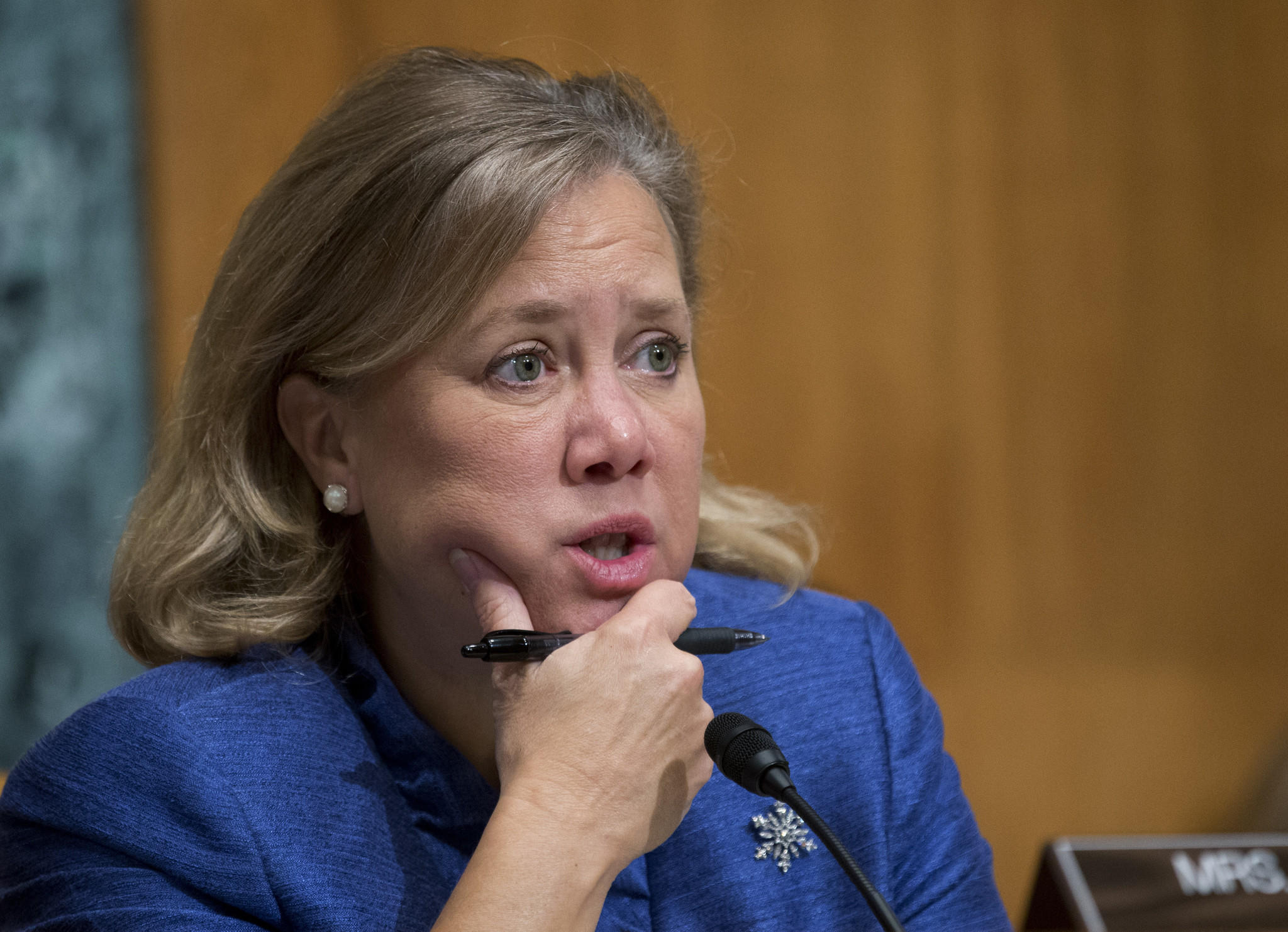Sen. Mary Landrieu (D-La.) has good reason to look worried. Her campaign to win a fourth term in the Senate looks difficult as Louisiana's electorate has turned more Republican.