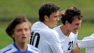McDonogh comes out firing in 4-1 boys soccer win over Loyola
