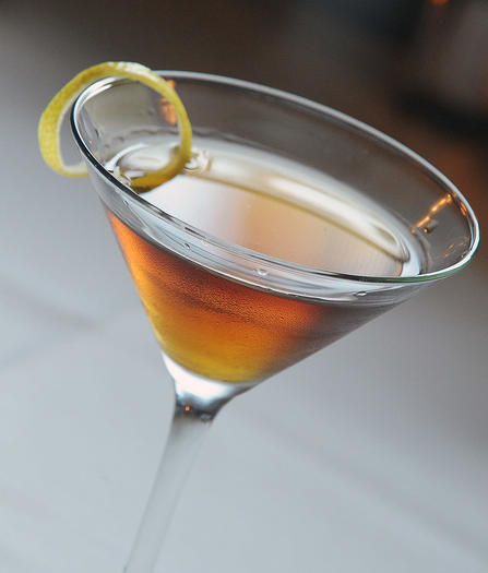 "Shaken, not stirred.  Try The Chameleon Cafe's spin on the ""Casino Royale"" cocktail."
